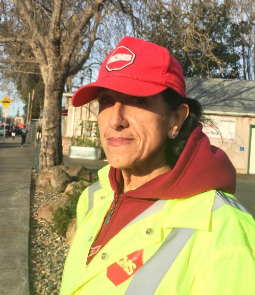 Joanne, crossing guard