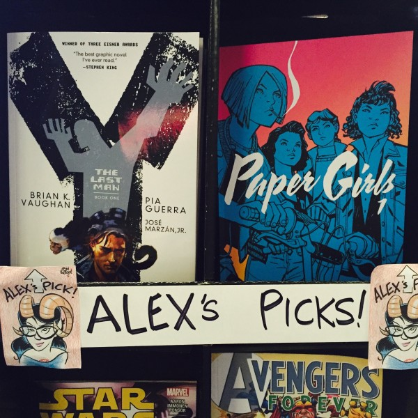 Alex's Picks