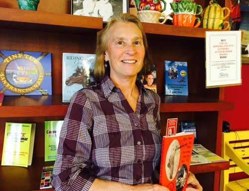 "Healdsburg's Jeane – Woman behind ""Dine with Local Authors"""