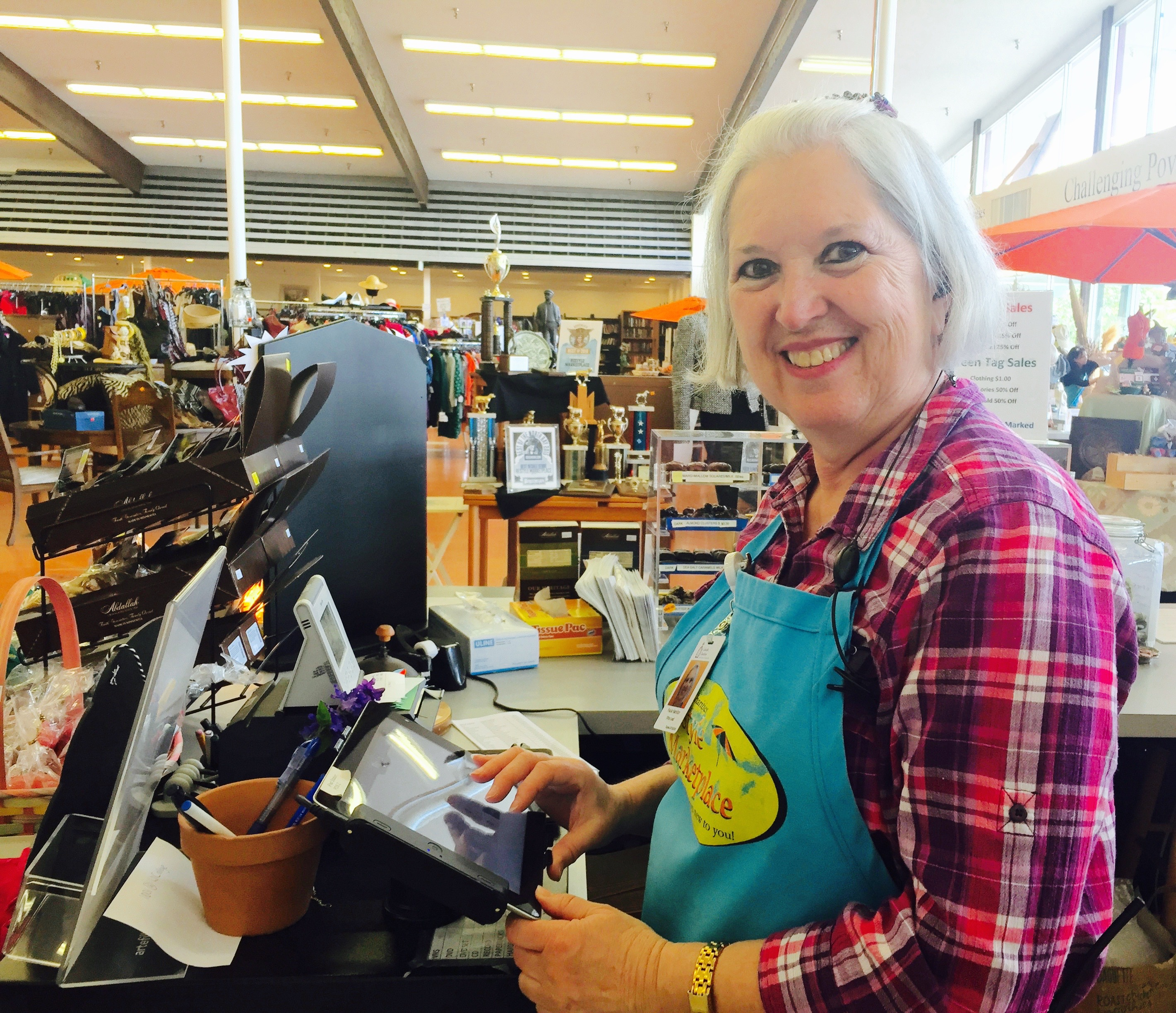 Reinvention at ReStyle Marketplace: Former career banker now just wants to have fun