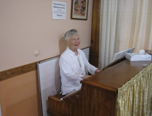 90 year old Windsor Woman Plays from the Heart